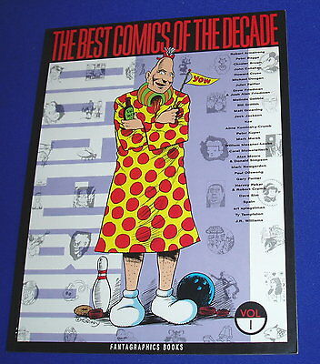 Best Comics of The Decade Vol 1:. Crumb, Alan Moore, Bagge etc..1st edn. VFN
