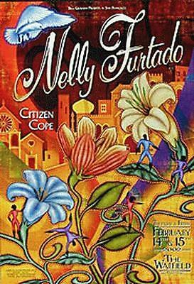 Nelly Furtado Warfield 2002 Bgp276 Concert Poster