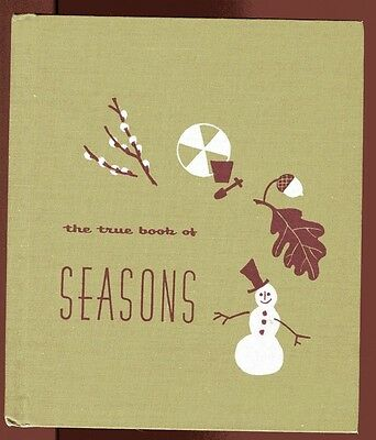 Lot of 3 True HB Books of Seasons of Sounds by Podendorf of Time by Ziner 1955