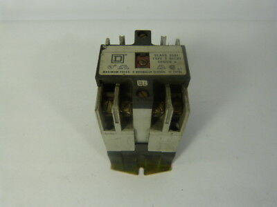 Square D 8501-X020-V02 Relay 10Amp 2Pole 110/120V Coil ! WOW !