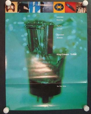 King Crimson Thrak 1995 Original Promo Poster