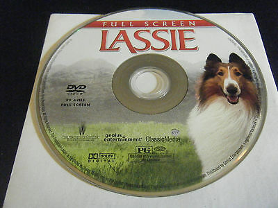 Lassie (DVD, 2006, Full Frame) - Disc Only!!!