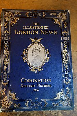 1937 Illustrated London News CORONATION Record Number Book-HUGE & GLORIOUS -SALE