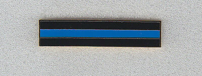 THIN BLUE LINE Gold Mourning/Award/Commendation Uniform Bar police/sheriff