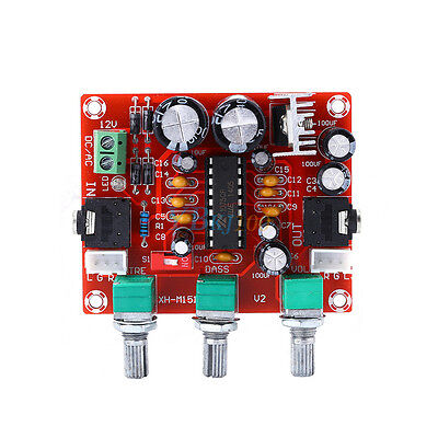 12V XR1075 BBE Digital Audio Processor Actuator Pre Amplifier Board DIY Kits