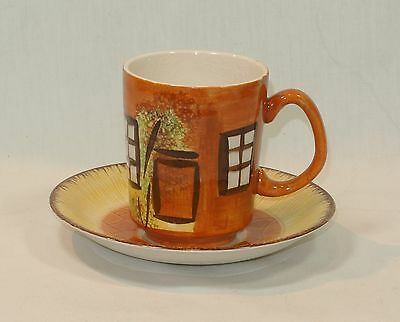 COTTAGE WARE Cup and Saucer Set Price Kensington England