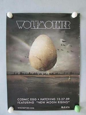 Wolfmother Cosmic Egg 2009 Original Promo Poster