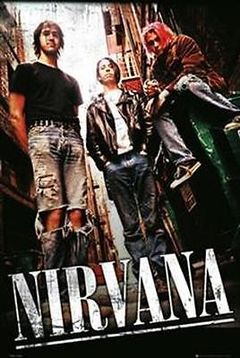Nirvana Alley Poster Kurt Cobain Dave Grohl