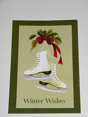 Ice Skate Christmas Cards & Envelopes Paper Images 20
