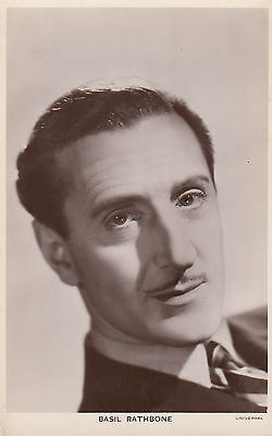 Basil Rathbone Vintage Picturegoer Photo Postcard