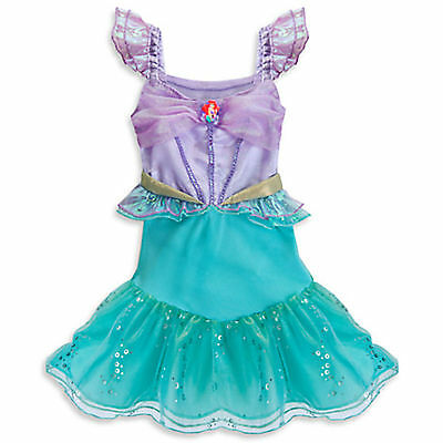 DISNEY STORE ARIEL COSTUME Baby Infant Sz 3 - 6 MONTHS  New Tags LITTLE MERMAID