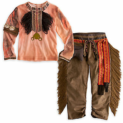 DISNEY STORE TONTO COSTUME The Lone Ranger Boys Size  2 - 3 XXS NEW WITH TAGS