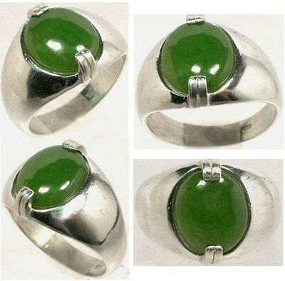 19thC Antique 4ct Jade Silver Neolithic Stone Age Europe Weapon Tool Swiss Alps