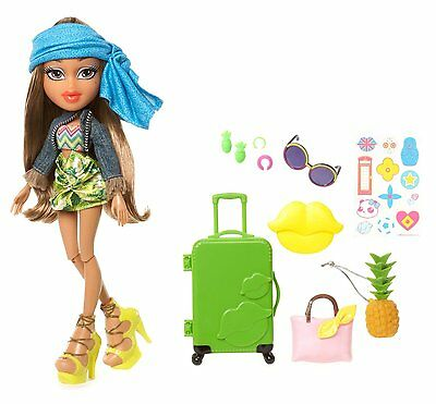 Bratz Study Abroad Yasmin to Brazil Doll Culture's Traditional Fashion Dolly Toy