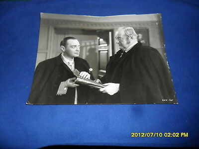 1946 Three Strangers Peter Lorre  Press Kit Photo & Letter From Warner Bros Inc