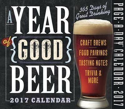 A Year of Good Beer Page-A-Day Calendar 2017