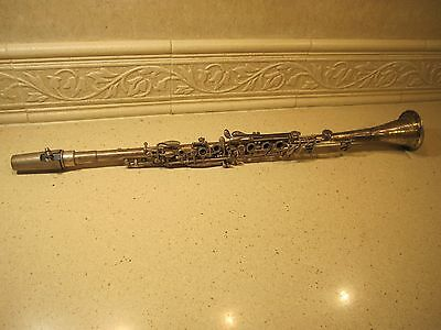 Silver Clarinet Continental Clarion 26 3/8 w/case