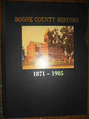Boone County Iowa History 1871-1985 Family Genealogy Early Pioneer Settler Towns