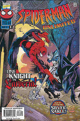 Spiderman Unlimited # 16 (52 pages, Silver Sable co-stars) (USA, 1997)