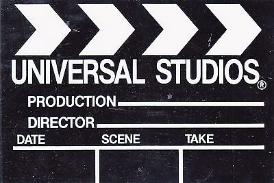 Universal Studios Hollywood- Clapperboard- Television, Movie Production-Nopm