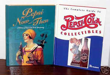 2 PEPSI COLA BOOKS Advertising Collectibles by Stoddard