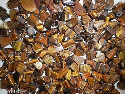 Tumbled Stone - Tiger Eye Stone (Small pieces) 120 gram Lot