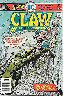 Claw The Unconquered Comic Book #7, DC Comics 1976 VERY FINE/NEAR MINT