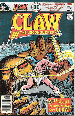 Claw The Unconquered Comic Book #9, DC Comics 1976 VERY FINE-