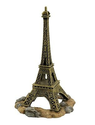 ✔Heritage PE271 Paris Eiffel Tower Ornament Fish Tank Aquarium Decoration 25cm ✔