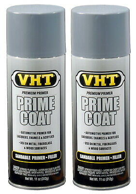 Vht Sp304 Light Gray Primer / Undercoat For Enamel, Acrylic Or Synthetic Lacquer