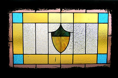 ~ ANTIQUE AMERICAN STAINED GLASS WINDOW ~ 1 of 2 \ ~ ARCHITECTURAL SALVAGE ~