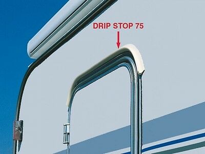 Fiamma Drip Stop 75cm Mini Door Gutter Rain Deflector for Caravan or Motorhome