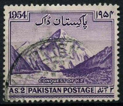 Pakistan 1954 SG#72 Conquest Of K2 Used #D30877
