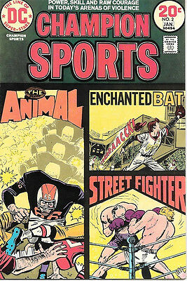 Champion Sports Comic Book #2, DC Comics 1974 VERY FINE