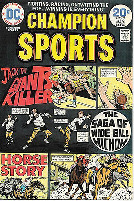 Champion Sports Comic Book #3, DC Comics 1974 VERY FINE