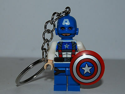 Captain America  Keychain Key Ring - The Avengers