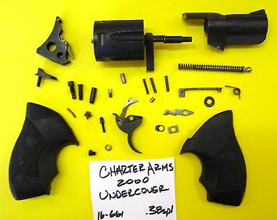 CHARTER ARMS 38 Sp Undercover Gun Part Lot All Pictured 4
