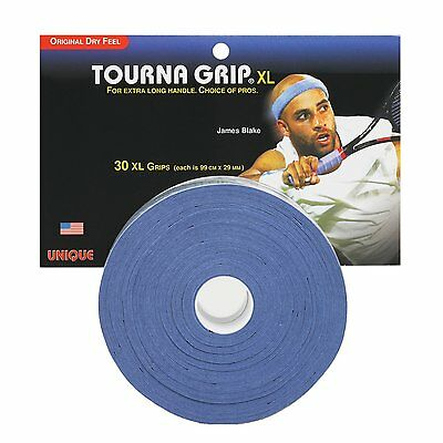 TOURNA OVERGRIP XL Pro 30 PACK tennis badminton squash racquet racket overgrip