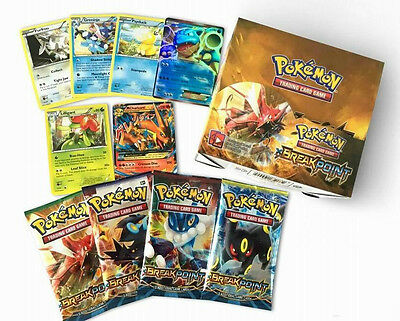 New RARE Pokemon TCG BreakPoint Booster Box English Edition 36 Packs 324Pcs Card