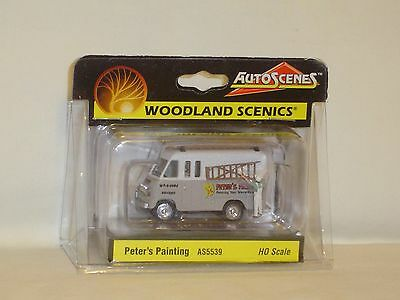 Woodland Scenics Auto Scenes Peter's Painting #as5539 Ho Scale