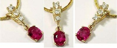 19thC Antique 1¼ct Ruby Ancient Roman Judicial Amulet Shaman Prophecy Seers 14kt