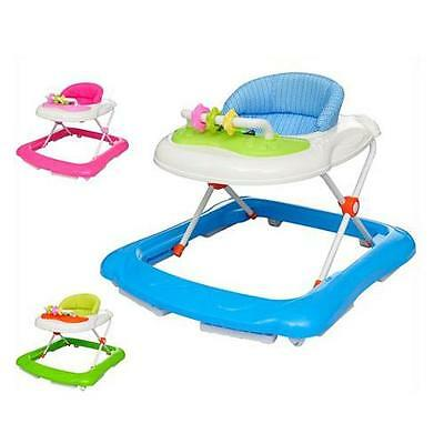 Pink/Blue/Green Baby Walker Rocker Play Activity Centre Infant Musical Toys Gift