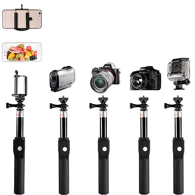 "Neewer 39"" Telescopic Selfie Handheld Monopod for Smartphone, GoPro and Cameras"