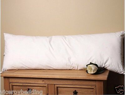 Pair of Super King Size Goose Feather & Down Pillows & Free Tc 300 Pillow Cases