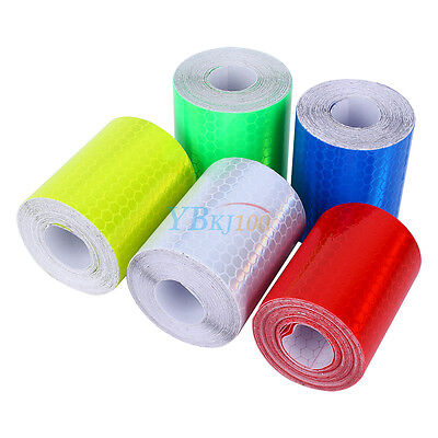 High Intensity Reflective Roll Tape Safety Warning Tape Self-Adhesive 300cm