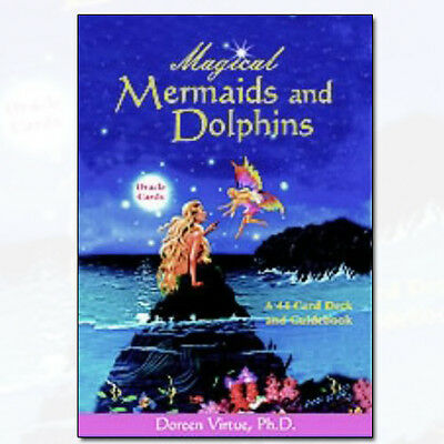 Magical Mermaids And Dolphin Oracle Cards by Doreen Virtue PhD [Cards] NEW