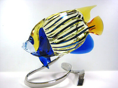 Emperor Angelfish Jonquil 2011 Swarovski Crystal Fish #1072590
