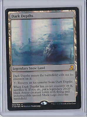 Magic The Gathering From The Vault Lore Dark Depths FOIL x1