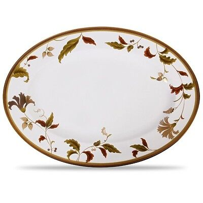Noritake China Islay 16 Inch Oval Serving Platter