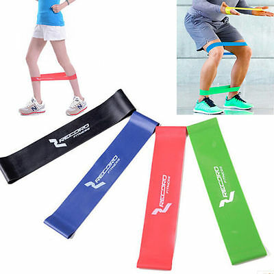 Yoga Sport Resistance Loop Rubber Band Exercise Training Fitness Strength Bands